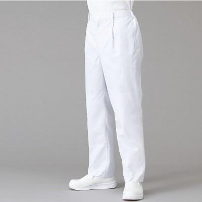 ガードナー パンツ TW564 男女兼用 春夏 ホワイト S-5L