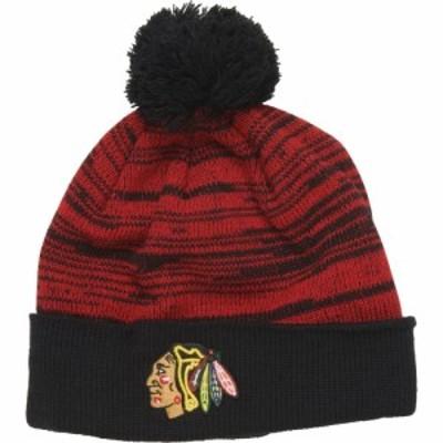 47ブランド 47Brand メンズ ニット ビーニー 帽子 Blackhawks Beanie Red