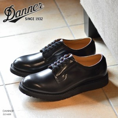 ダナー ポストマンシューズ ブラック DANNER POSTMAN SHOES レザーシューズ 革靴 D214300