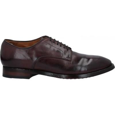 オフィチーネ クリエイティブ OFFICINE CREATIVE ITALIA メンズ シューズ・靴 laced shoes Deep purple