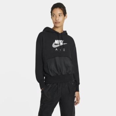 (取寄)ナイキ レディース エア パーカー フーディ Nike Women's Air Hoodie Black White