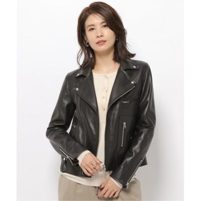 BABYLONE / 【TICCA】ライダースジャケット WOMEN ジャケット/アウター > ライダースジャケット