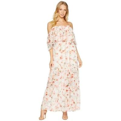 ビービーダコタ レディース ワンピース トップス RSVP Tae Floral Off the Shoulder Dress