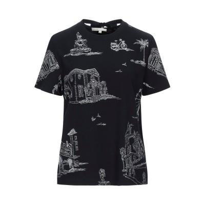 MAJE T シャツ ブラック 1 コットン 100% T シャツ