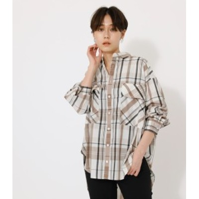 【50%OFF】 BIG CHECK SHIRT/ビッグチェックシャツ WOMENSレディース