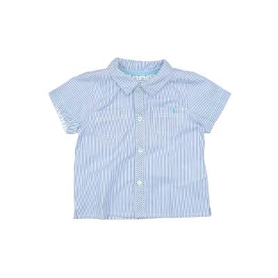MAYORAL シャツ スカイブルー 12 コットン 100% シャツ