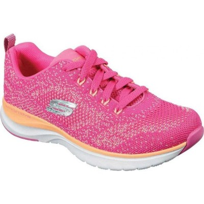 スケッチャーズ Skechers レディース ランニング・ウォーキング スニーカー シューズ・靴 Ultra Groove Sneaker Hot Pink/Orange
