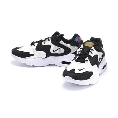 ナイキ エア マックス NIKE AIR MAX 2X スニーカー シューズ 靴 メンズ タウンユース トレーニング カラー:ホワイト/ブラック/ホワイト