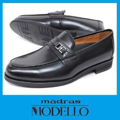 マドラスモデーロ DL9031 ブラック 黒 madras MODELLO 本革ビジネスシューズ 3E