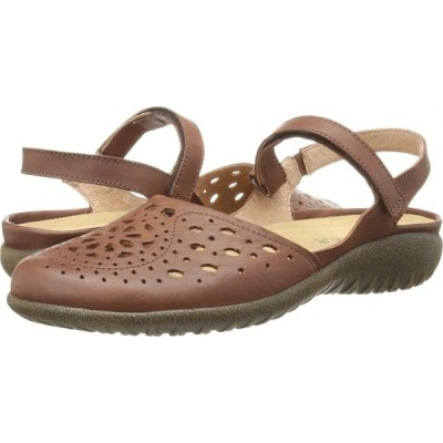 ナオト Naot レディース スリッポン・フラット シューズ・靴 Arataki Cinnamon Leather