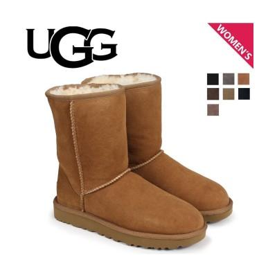 (UGG/アグ)UGG アグ ムートン ブーツ クラシック ショート 2 WOMENS CLASSIC SHORT II 1016223 レディース/レディース CHESTNUT