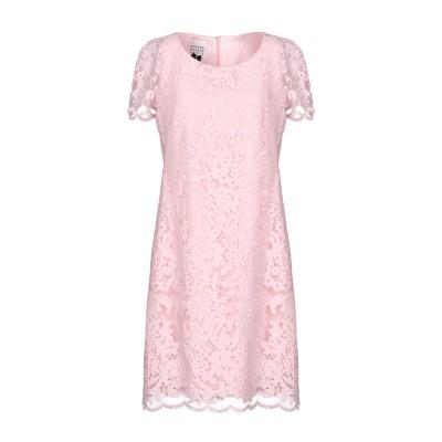 EDWARD ACHOUR ミニワンピース&ドレス ピンク 38 ポリエステル 82% / ナイロン 18% ミニワンピース&ドレス