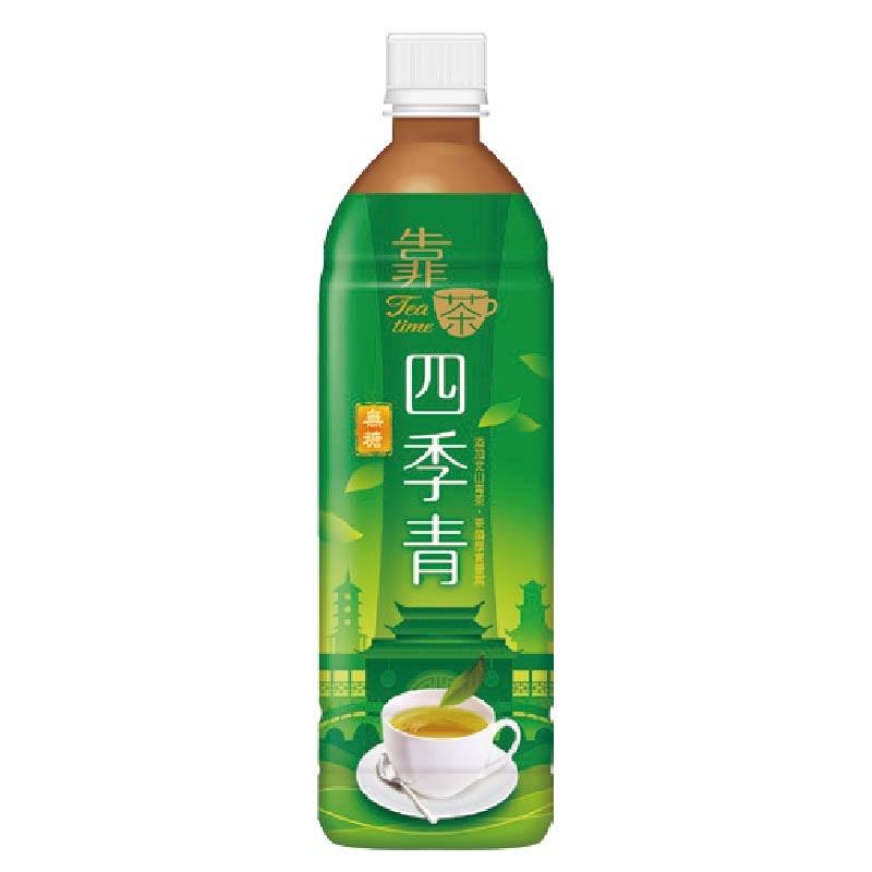 波蜜靠茶四季青茶580ml