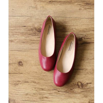 welleg from outletshoes / スクエアトゥ ローヒール スムース調 パンプス WOMEN シューズ > パンプス