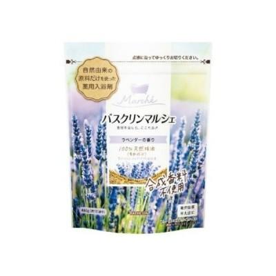 【あわせ買い2999円以上で送料無料】バスクリンマルシェ 薬用 入浴剤 ラベンダーの香り 480g ( 約12回分 )