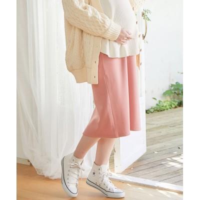 ビス/【ViSmommy】裏起毛スカート【WEB限定】/ピンク/L