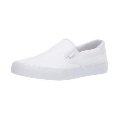 Lugz Men's Clipper Sneaker, White, 9 D US【並行輸入品】