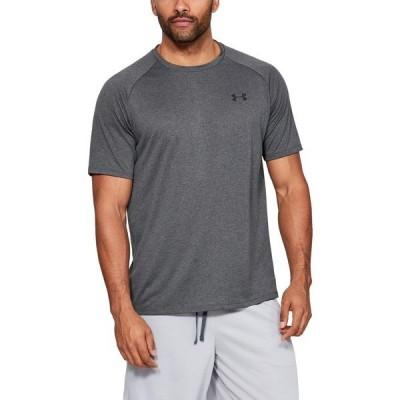 アンダーアーマー シャツ トップス メンズ Under Armour Men's UA Tech T-shirt Charcoal 02