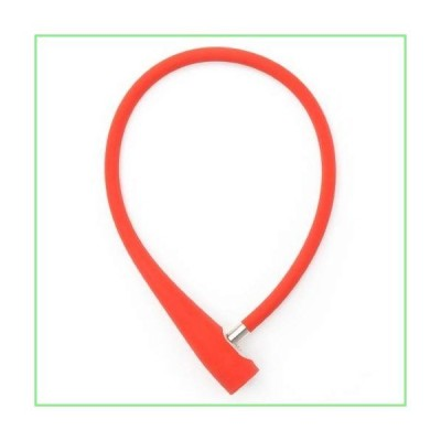 KNOG Lock Frankie Red Cable Blade Style 8mm Stainless Steel Lock 並行輸入品