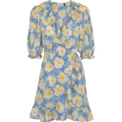 リキソ Rixo レディース ワンピース ミニ丈 ワンピース・ドレス nina floral minidress Azelea Bloom