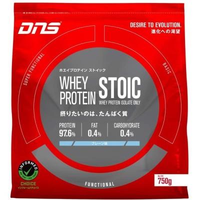 DNS ホエイ プロテイン ストイック プレーン味 750g(約30回分) たんぱく質 筋トレ