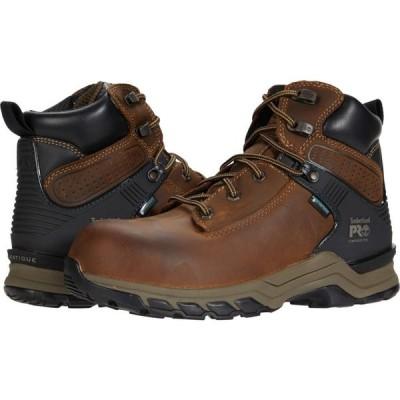 ティンバーランド Timberland PRO レディース ブーツ シューズ・靴 Hypercharge 6' Composite Safety Toe Waterproof Brown