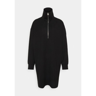 アーケット ワンピース レディース トップス DRESS - Jersey dress - black