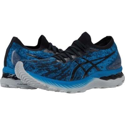 アシックス ASICS メンズ ランニング・ウォーキング シューズ・靴 GEL-Nimbus 23 Knit Reborn Blue/Black