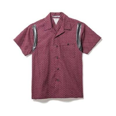 【50%OFF!!SALE!!】CHORD NUMBER EIGHT(コードナンバーエイト) ピンドット ボウリングシャツ BUG