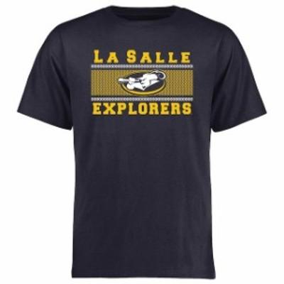 Fanatics Branded ファナティクス ブランド スポーツ用品  La Salle Explorers Navy Big & Tall Micro Mesh T-Shirt