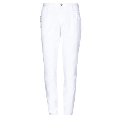 PT Torino パンツ ホワイト 34 コットン 98% / ポリウレタン 2% パンツ
