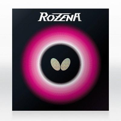 ◆◆●送料無料 メール便発送 <バタフライ> Butterfly ロゼナ 06020 (278)ブラック 卓球 ラバー 06020-278