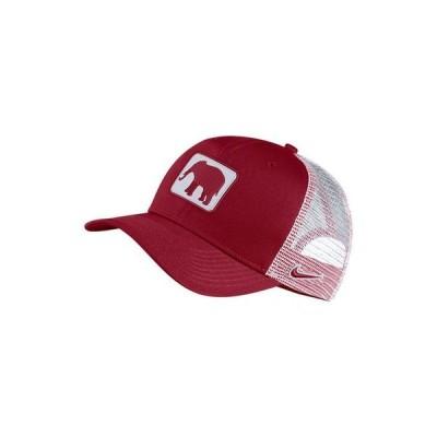 ナイキ メンズ 帽子 アクセサリー Alabama Crimson Tide Patch Trucker Cap