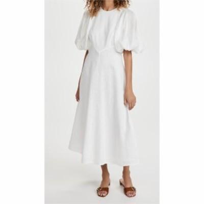 ジマーマン Zimmermann レディース ワンピース ミドル丈 ワンピース・ドレス Linen Day Midi Dress Natural