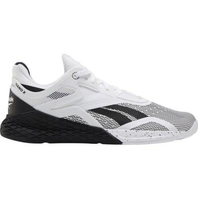 リーボック スニーカー シューズ メンズ Reebok Men's Nano X Training Shoes Black/White