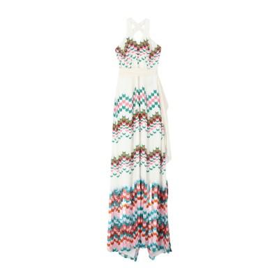 ジェニー・パッカム JENNY PACKHAM ロングワンピース&ドレス ホワイト 16 シルク 100% ロングワンピース&ドレス
