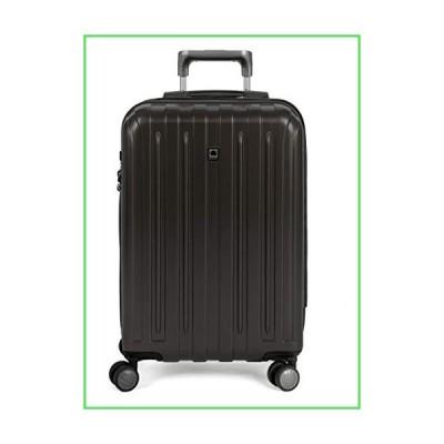 【全国送料無料】DELSEY Paris Titanium Hardside Expandable Luggage with Spinner Wheels, Black, Carry-On 21 Inch【並行輸入品】
