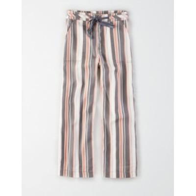 アメリカンイーグル レディース デニムパンツ ボトムス AE Super High-Waisted Wide Leg Crop Pant Pink