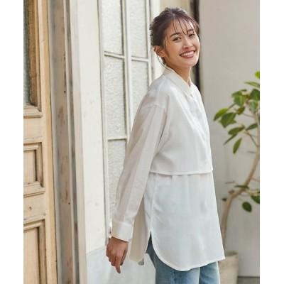 【神戸レタス】 [ 2点セット ] レイヤードショートシャツ [C5254] レディース オフホワイト ワンサイズ(M) KOBE LETTUCE
