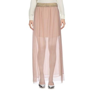 カオス KAOS ロングスカート ローズピンク M ポリエステル 95% / ポリウレタン 5% ロングスカート