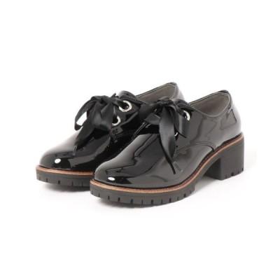 ブーツ 【おじ靴】厚底マニッシュシューズ 54574