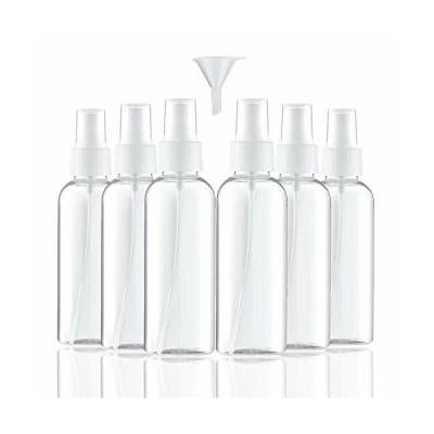 60ml小分けボトル スプレーボトル プラスチック容器 空ボトル 押し式ボトルトラベルボトル 旅行ボトル 詰め替