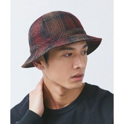 帽子 ハット 【OVERRIDE】MOON TWEED METRO