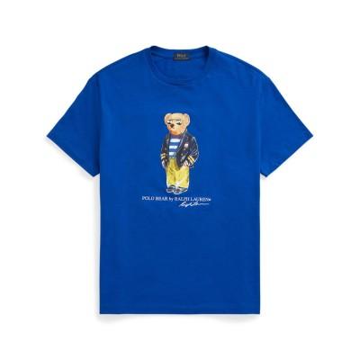 ポロラルフローレン POLO RALPH LAUREN カスタム スリム フィット ベア Tシャツ (BLUE)