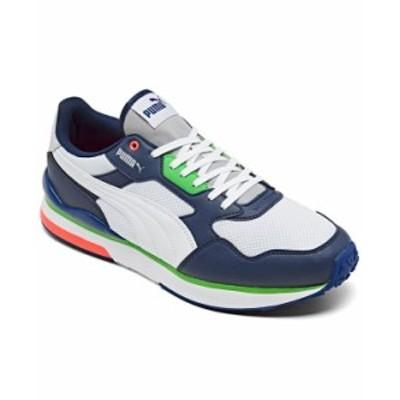 プーマ メンズ スニーカー シューズ Men's R78 FUTR Casual Sneakers from Finish Line Blue