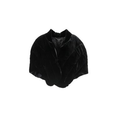 ツインセット シモーナ バルビエリ TWINSET マント ブラック 38 レーヨン 75% / ナイロン 25% マント