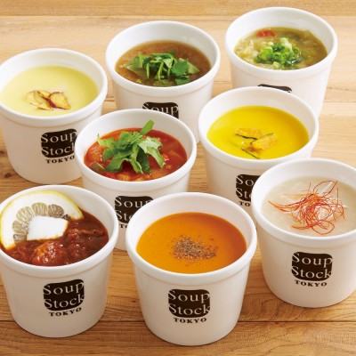 Soup Stock Tokyo(スープストックトーキョー) 人気のスープセット (各180g 計8袋)