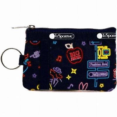 LeSportsac レスポートサック カードケース ID CARD CASE NEON NIGHTS