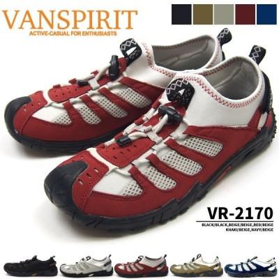 スリッポンシューズ メンズ VANSPIRIT VR-2170