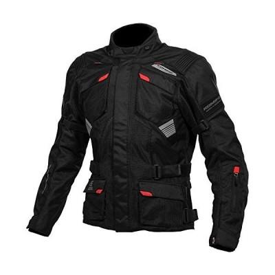 コミネ KOMINE バイク プロテクト アドベンチャー メッシュ ジャケット アウター プロテクター 通気性 Black L JK-142